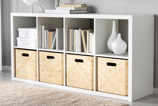 Kallax Shelf Unit White 30 3 8x57 7 8 Ikea Box Shelves Ikea