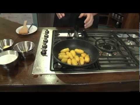 Brunede kartofler (stegt i olie) | Madhjælp #brunedekartofler Brunede kartofler (stegt i olie) | Madhjælp #brunedekartofler