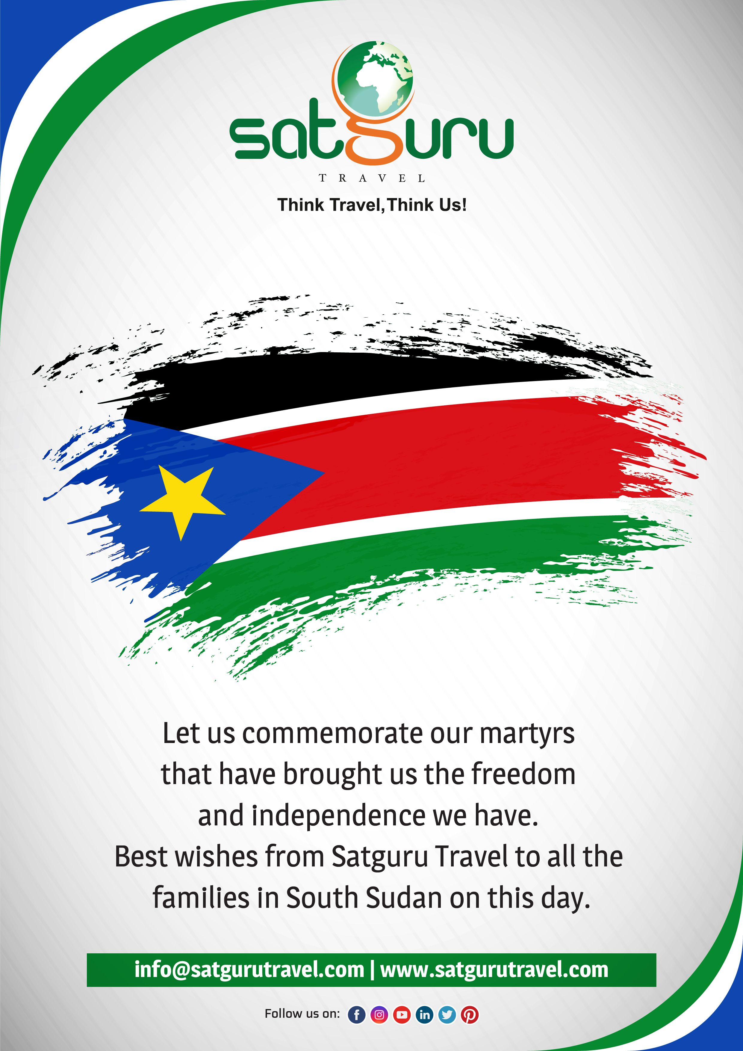 Happy martyrs day from satguru travel family in 2020