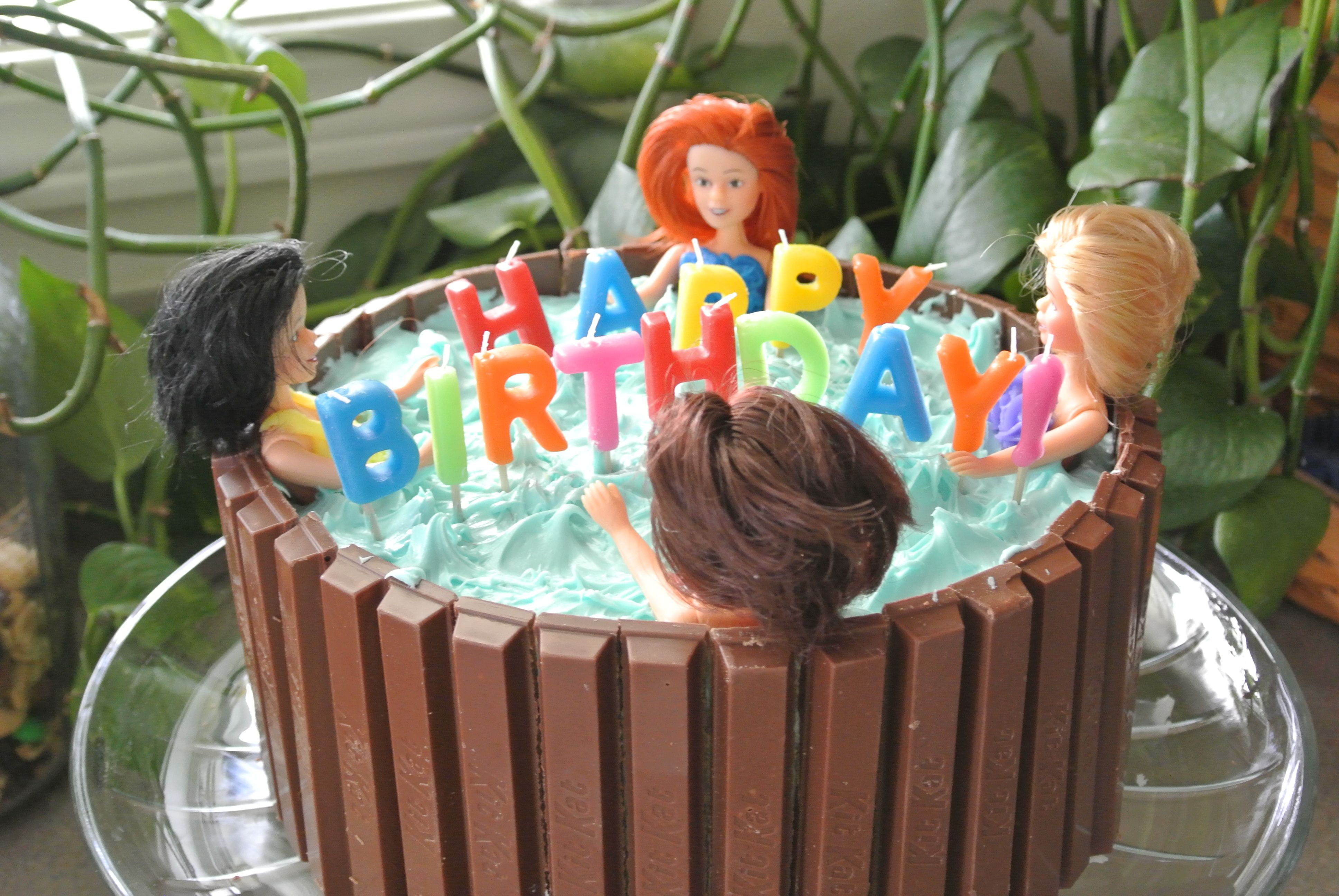 Hot Tub Cake Pool Party Cakes Pamper Party Party Cakes