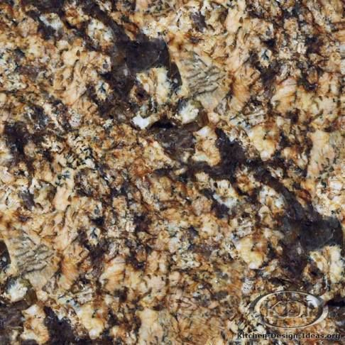 Golden Persa Granite Is A Natural Stone That Could Be Used For Kitchen  Countertop Surfaces.
