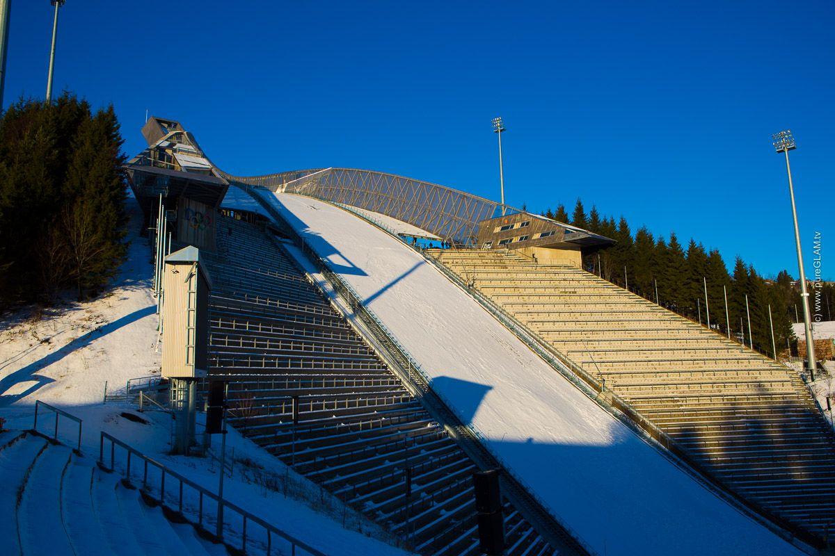 Holmenkollen, Oslo, Norway, Norwegen, Skijump