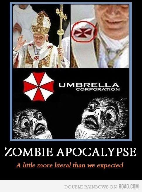 Zombie Apocalypse Bring It On Resident Evil Funny Resident Evil Movie Resident Evil