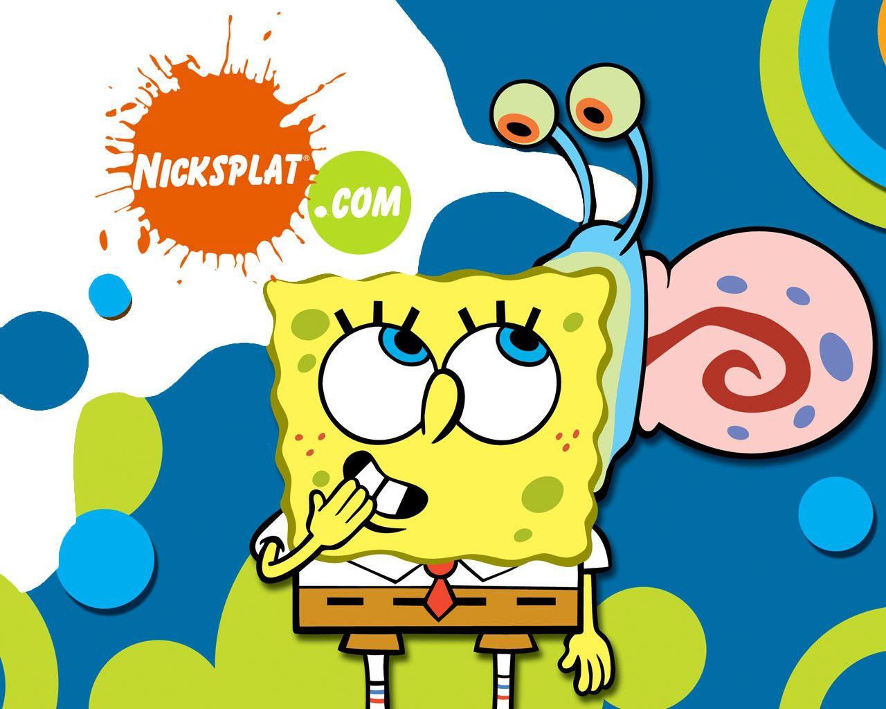 Gary And Spongebob Wallpaper Here You Can See Gary And Spongebob Wallpaper Or Download Picture Of Gary An Spongebob Spongebob Wallpaper Nickelodeon Spongebob
