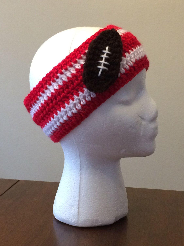 Football Team Color Headband  Alabama Ear Warmer  College Football Teams   138b86e8b