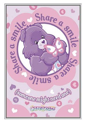 Care Bears Share A Smile Framed Poster - Quality Silver Metal Frame ...