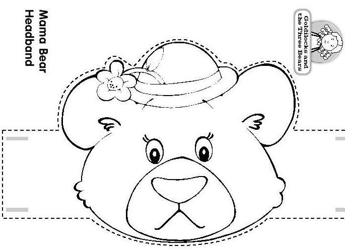 Craft A Fairy Tale Mama Bear Headband Goldilocks And The