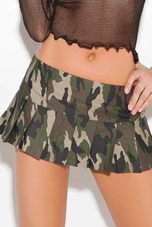 b3479c5019a0 ARMY UNIFORM MINI SKIRT | Mini skirts, Mini dress | Camo mini skirt ...