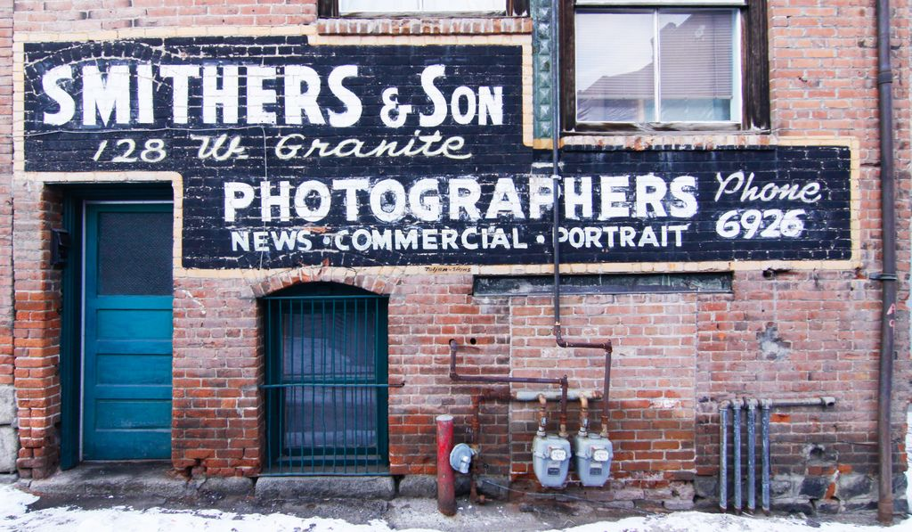 Smithers and Son | Butte Montana Ghost Sign