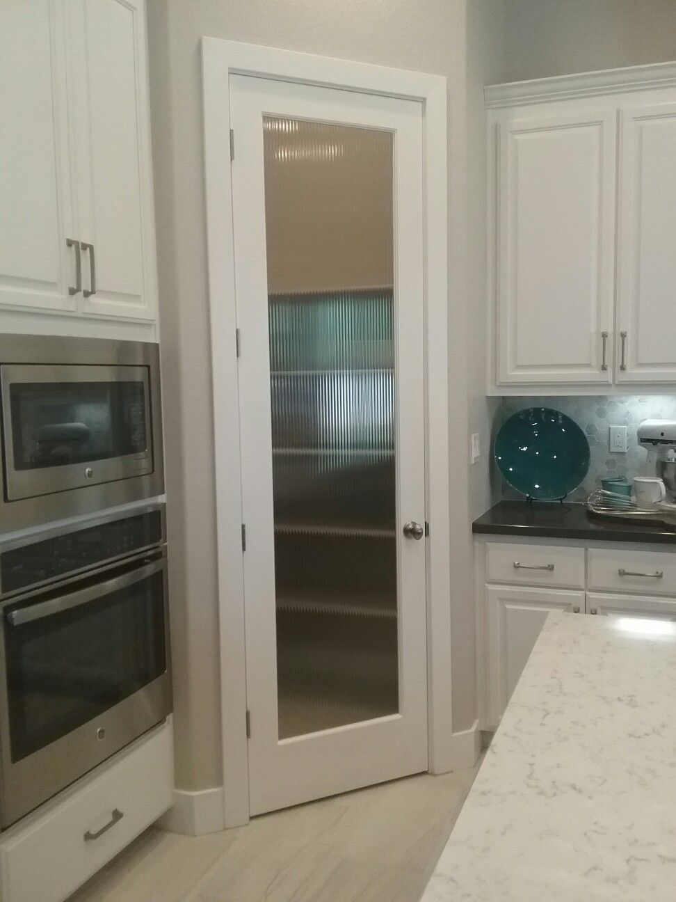 Reed glass pantry door optional solera interior trim pinterest reed glass pantry door optional planetlyrics Gallery