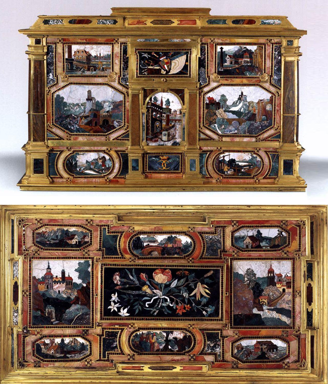 Pietra Dura Pietra Dura Pietre Dure Scagliola Micro Mosaics  # Muebles Padua Salamanca