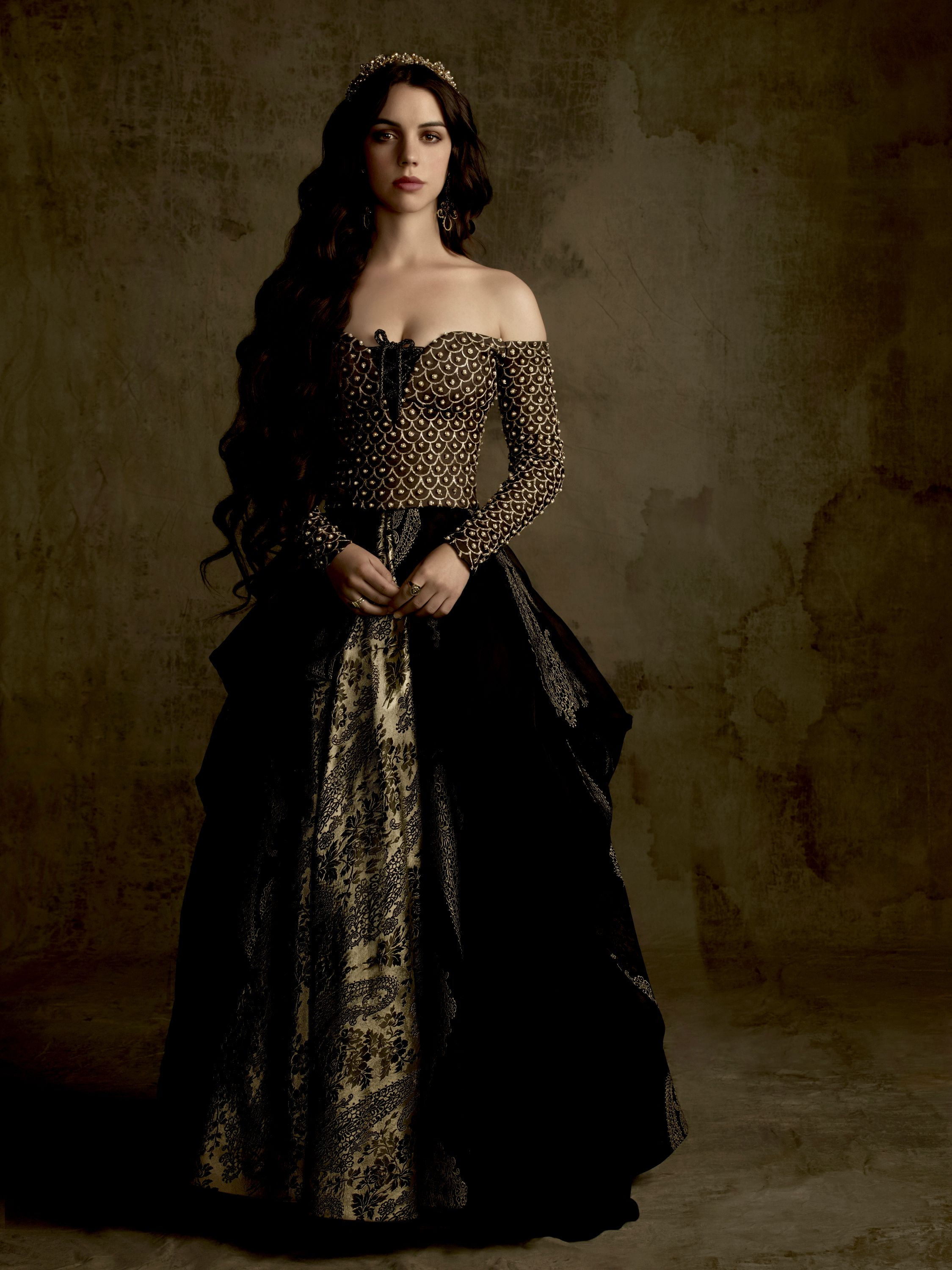 Adelaide Kane as Queen Mary Stuart in \
