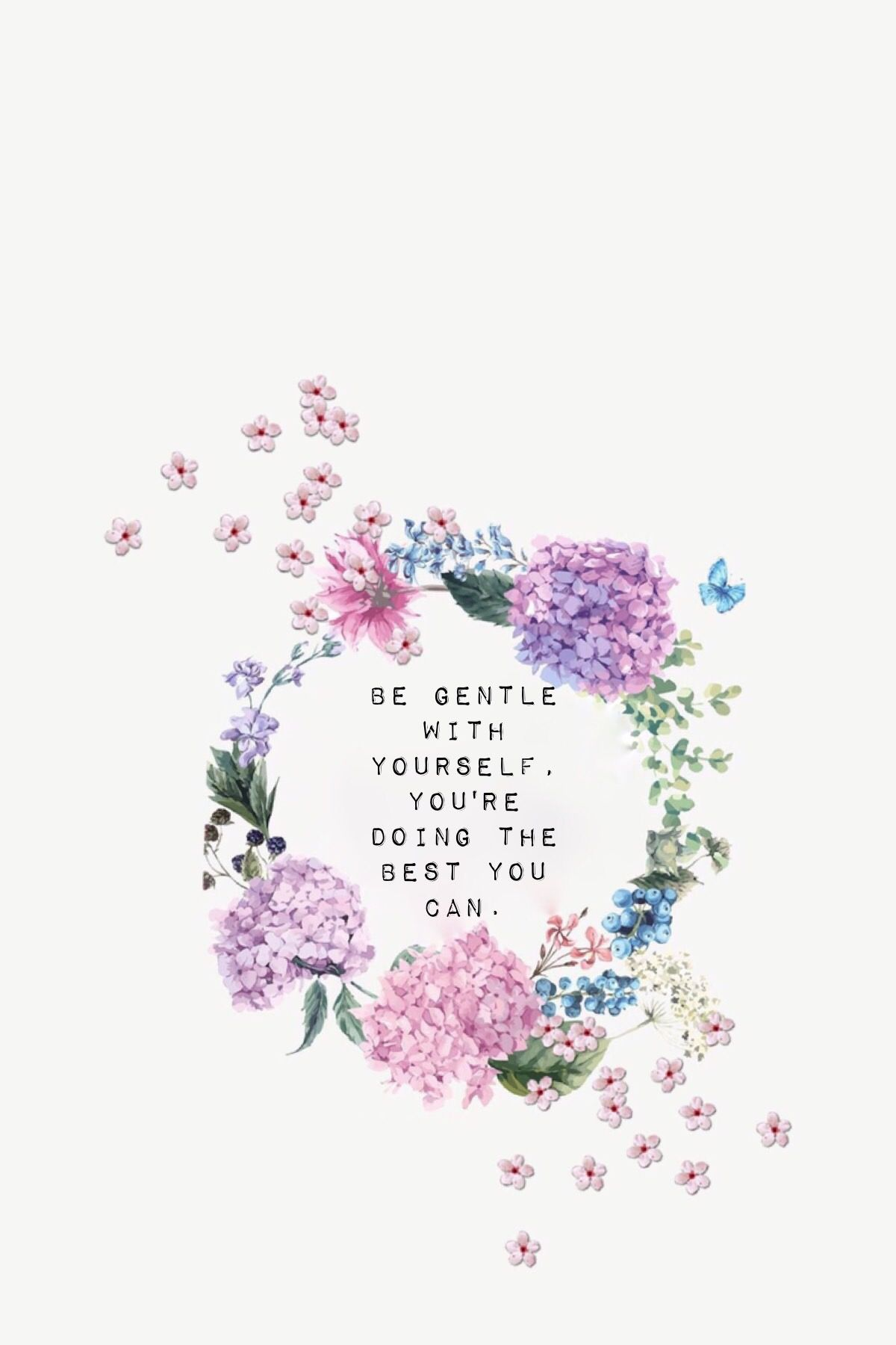 Love yourself, selflove, seltesteem, recovery wallpaper, iPhone background | Motivation ...