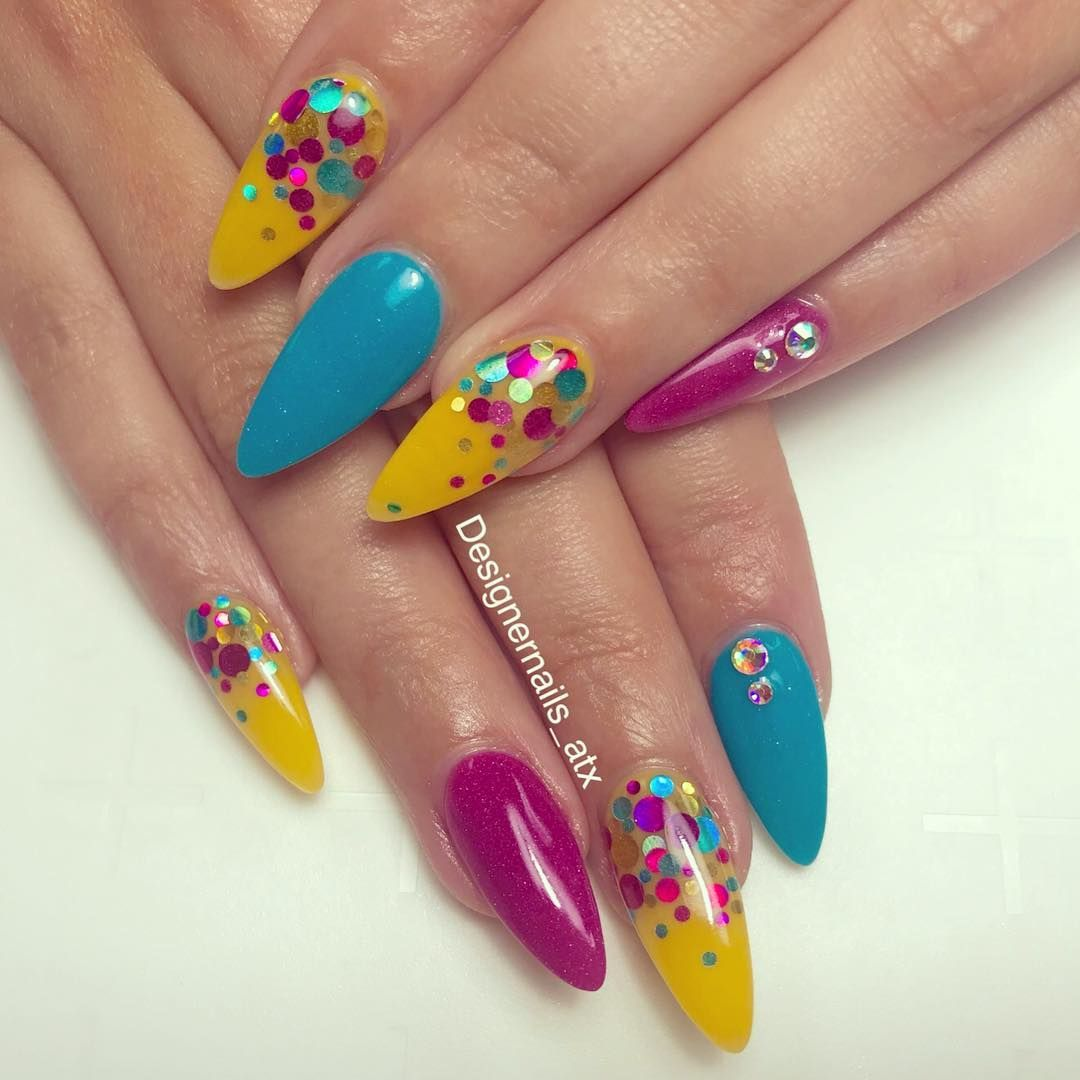Pin by laurynmichele on acrylic nails in pinterest nails