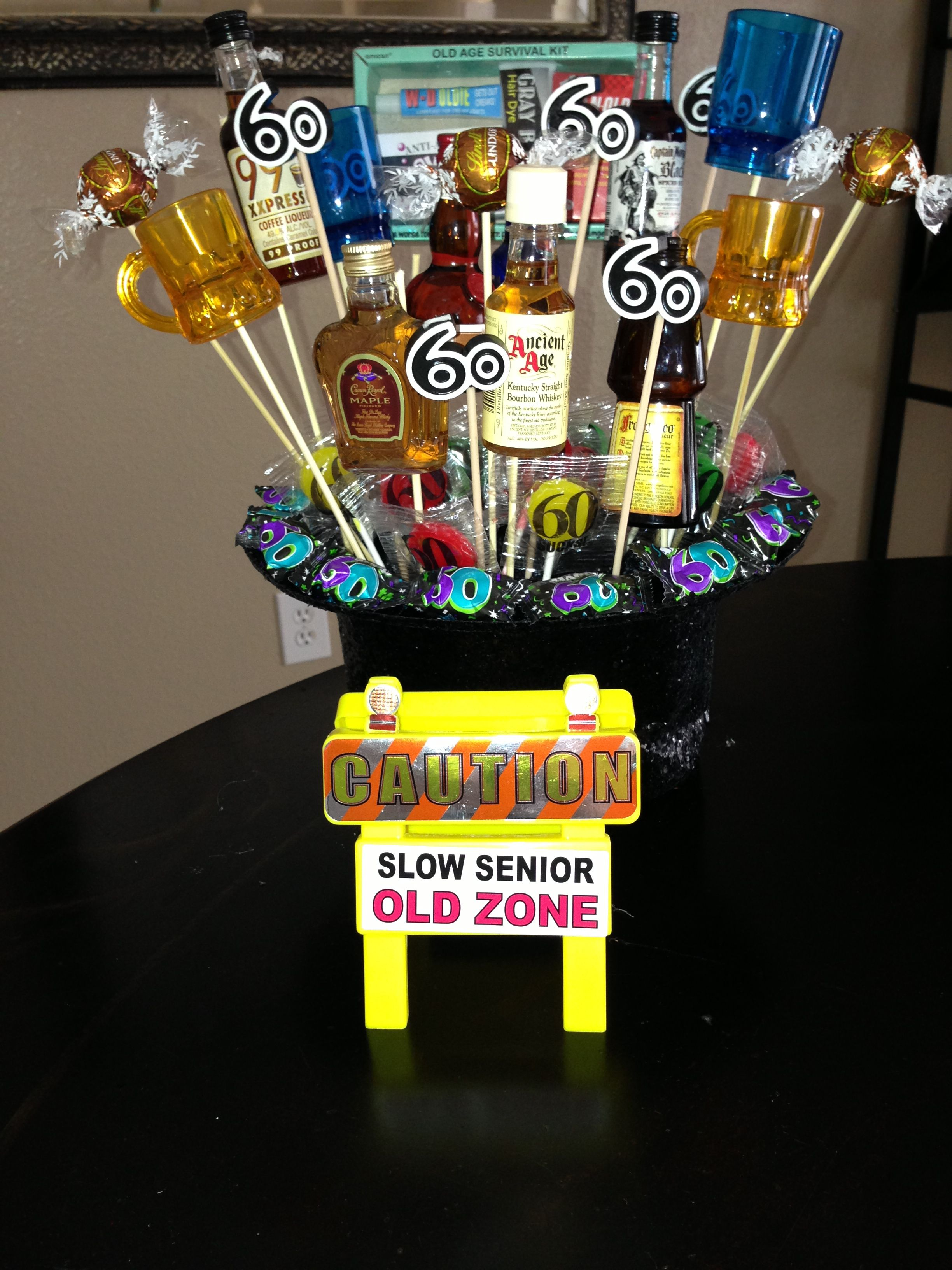60th Birthday gift or centerpiece leslie zambrano i like
