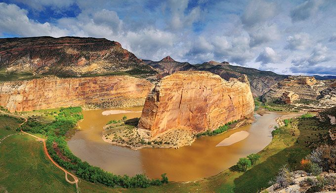 National Monuments in Colorado - Echo Park Steamboat Rock in ...
