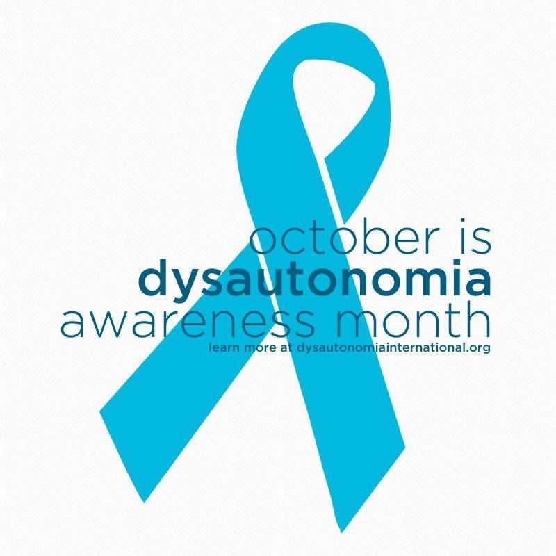 Image result for dysautonomia awareness month
