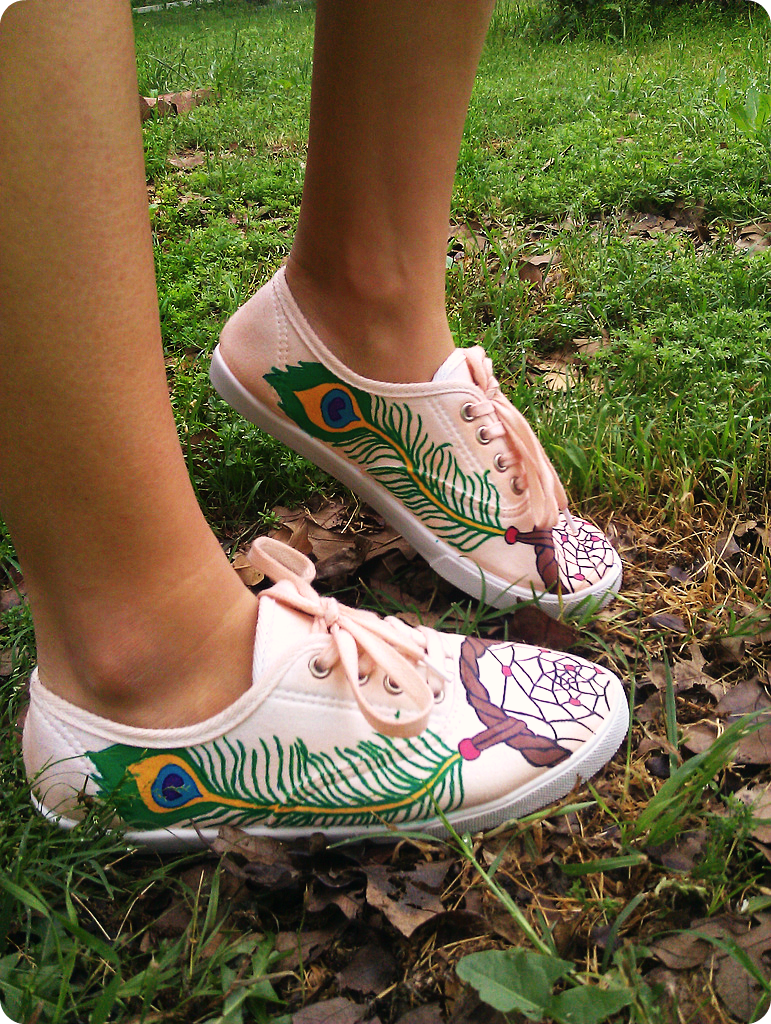 Dream Catcher Shoes!