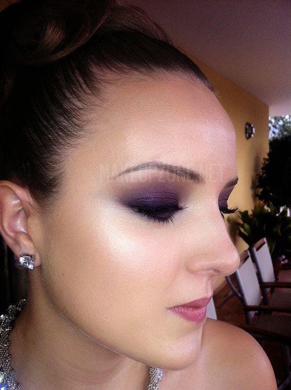 Violet smokey morados | Maquillaje | Pinterest | Maquillaje ...