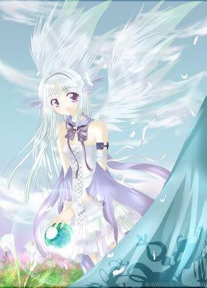 Anime Ice Girl | Ice Anime Princess Girl Graphics Code ...