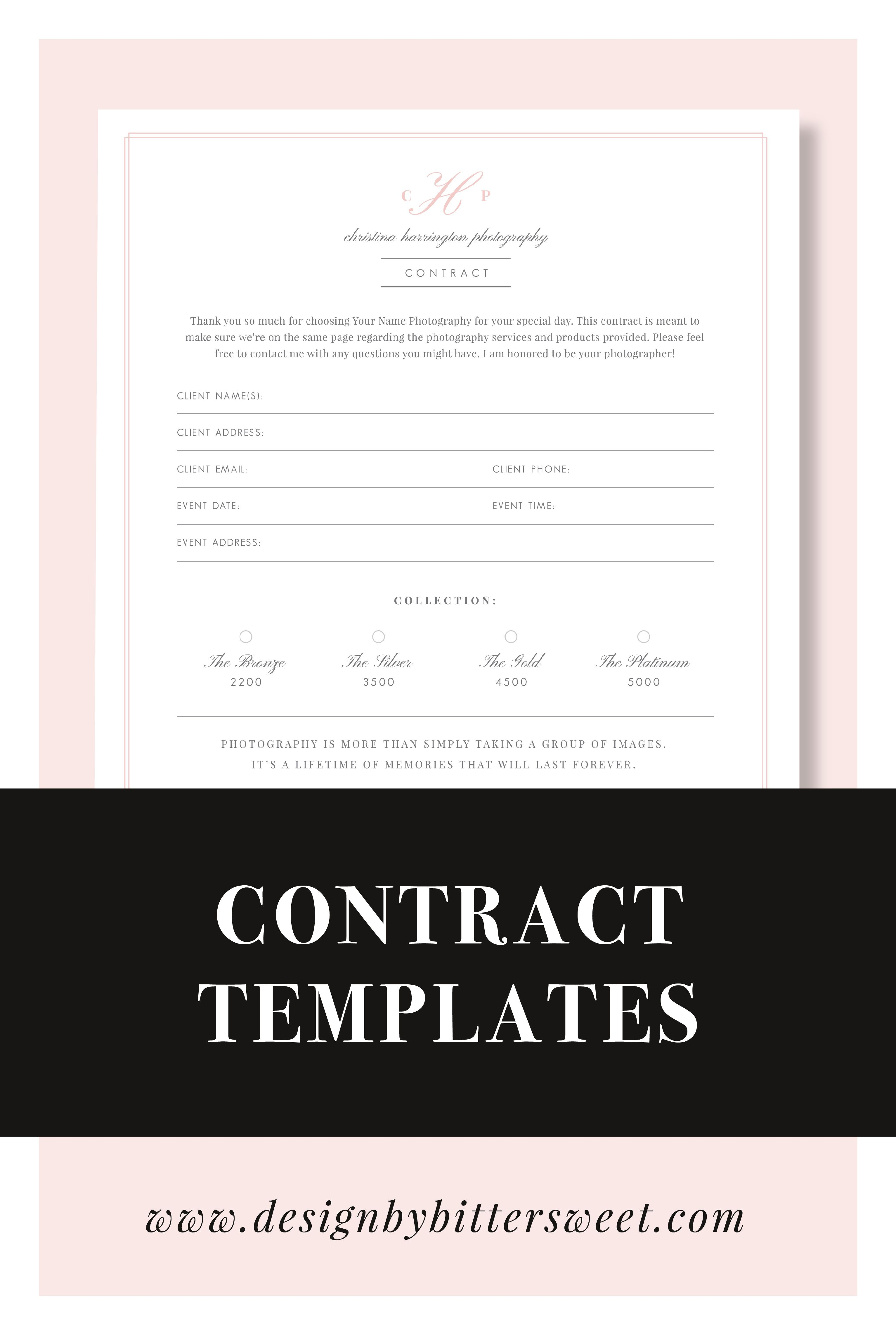 Wedding Photography Contract Template Eucalyptus Wedding Photography Contract Template Wedding Photography Contract Photography Contract