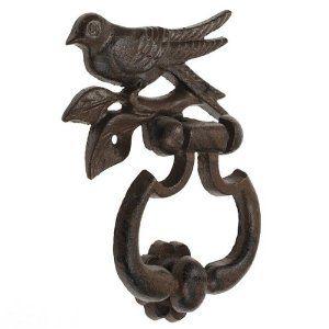 Cast Iron Bird Door Knocker: Amazon.co.uk: Kitchen U0026 Home