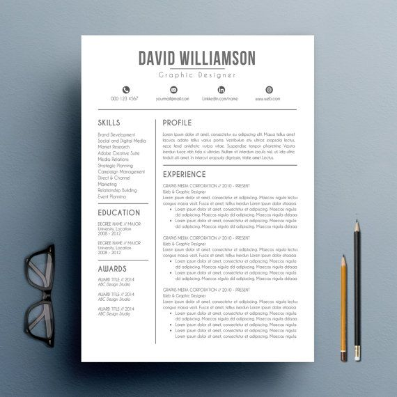 Pin By Anastasiya On Best Resume Templates Resume Template Reference Letter Cv Template