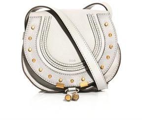 e7d58a2a7 Chloé Marcie satchel on shopstyle.com Studded Leather, Saddle Bags, Chloe,  Satchel