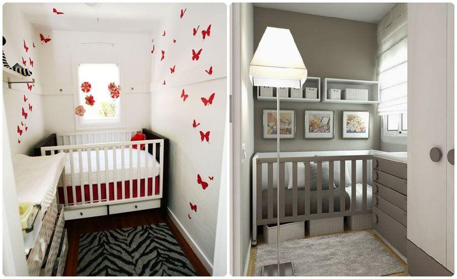 8 bonitas habitaciones de beb s para pisos peque os - Habitaciones bebe pequenas ...