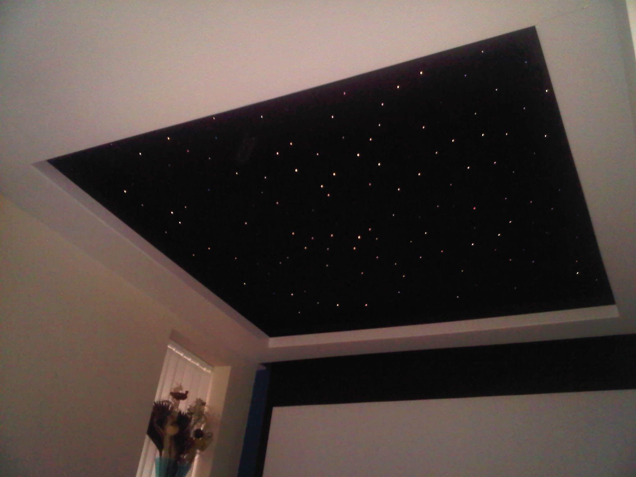 Fiber Optic Star Ceiling Lighting Kit
