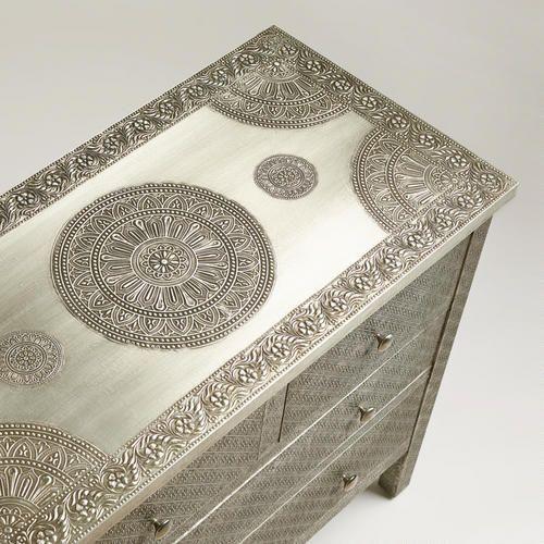Kiran Embossed Metal Dresser | Emboss, Dresser and India