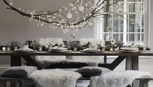 8 gorgeous Christmas table setting ideas  - housebeautiful.co.uk