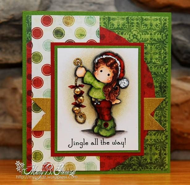 Jingle All the Way by mbg10001 - Cards and Paper Crafts at Splitcoaststampers