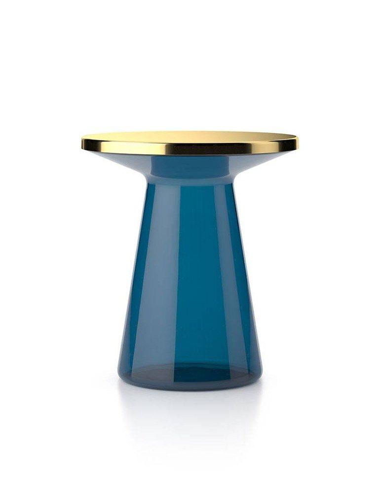 runder glas glas marmor glastisch couchtisch aus glas und. Black Bedroom Furniture Sets. Home Design Ideas