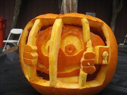 pumpkin template funny  pumpkin jail template   Funny Pumpkin Carving Ideas   Funny ...