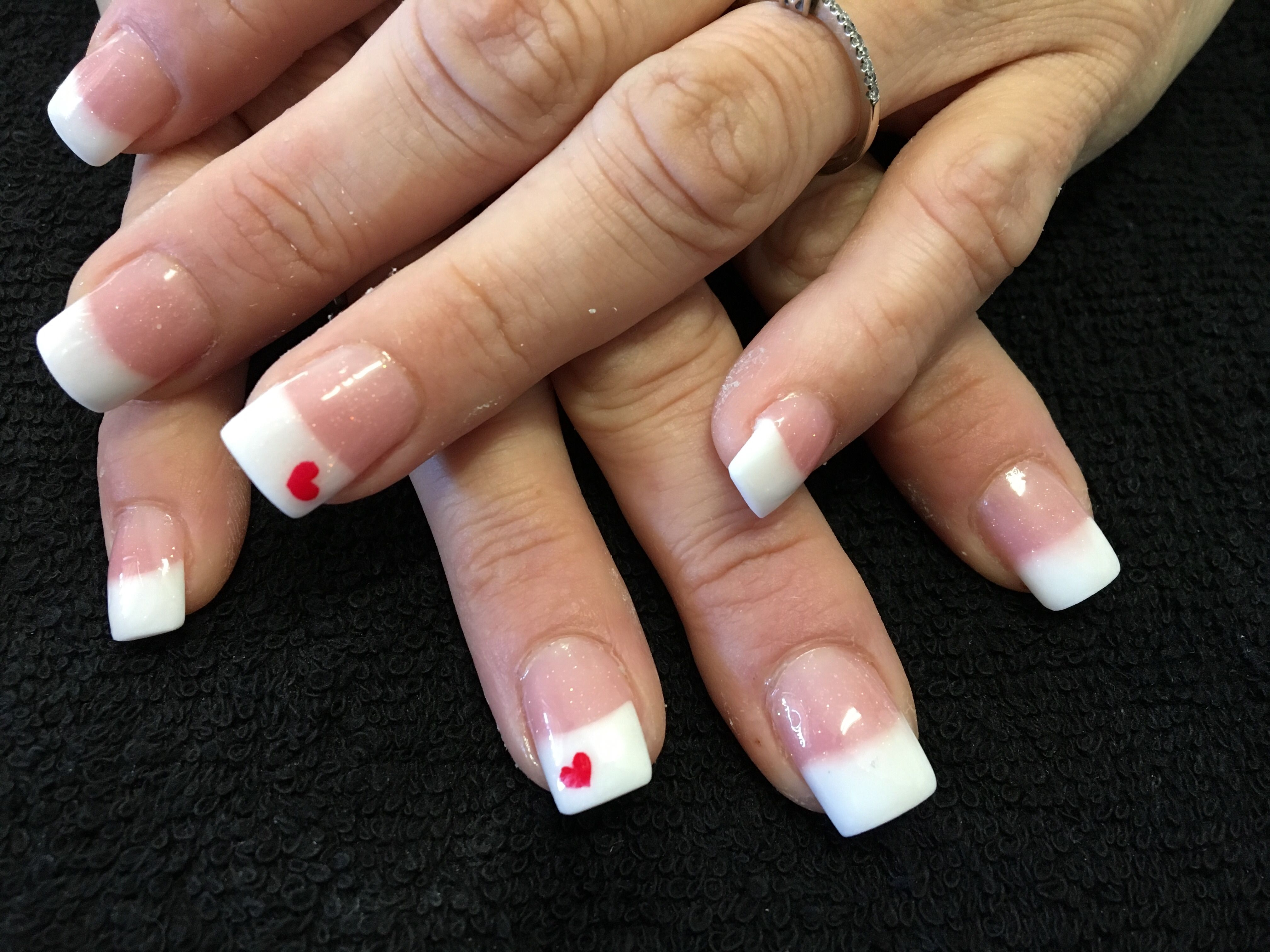 Full Set of Tammy Taylor Pink and White Nails | Nail art | Pinterest ...