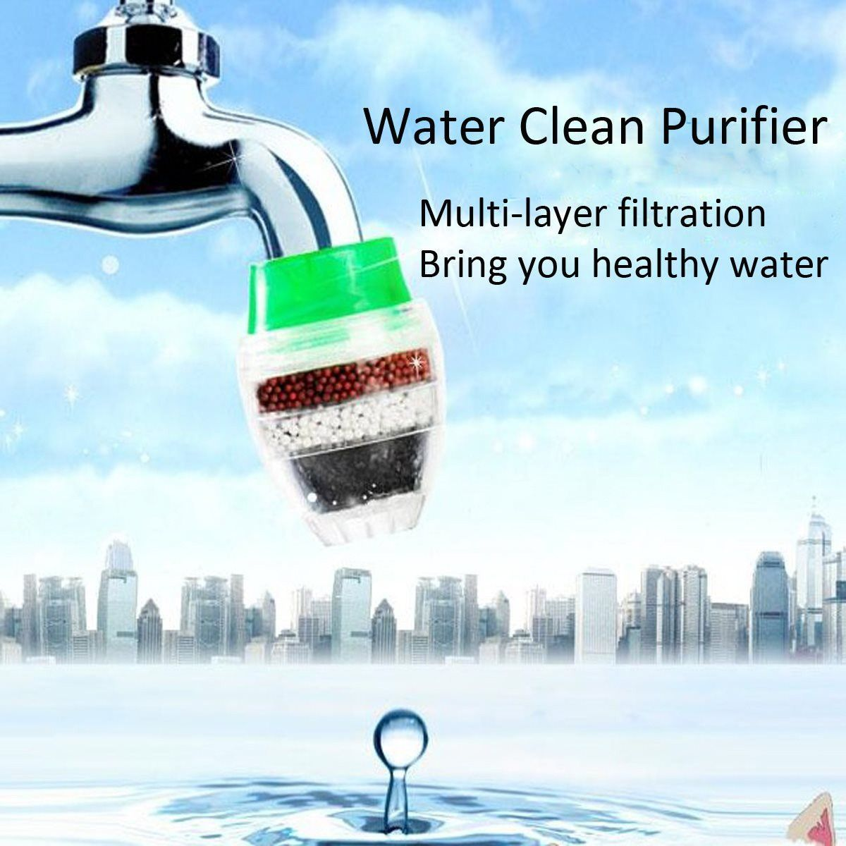 Buy Carbon Home Household Kitchen Mini Faucet Tap Water Clean ...