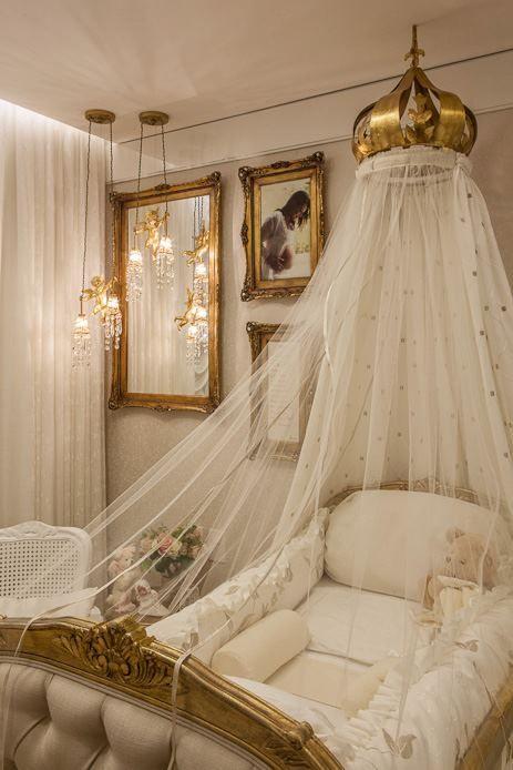 Baby nursery princess room by myrna porcaro baby for Baby princess bedroom ideas