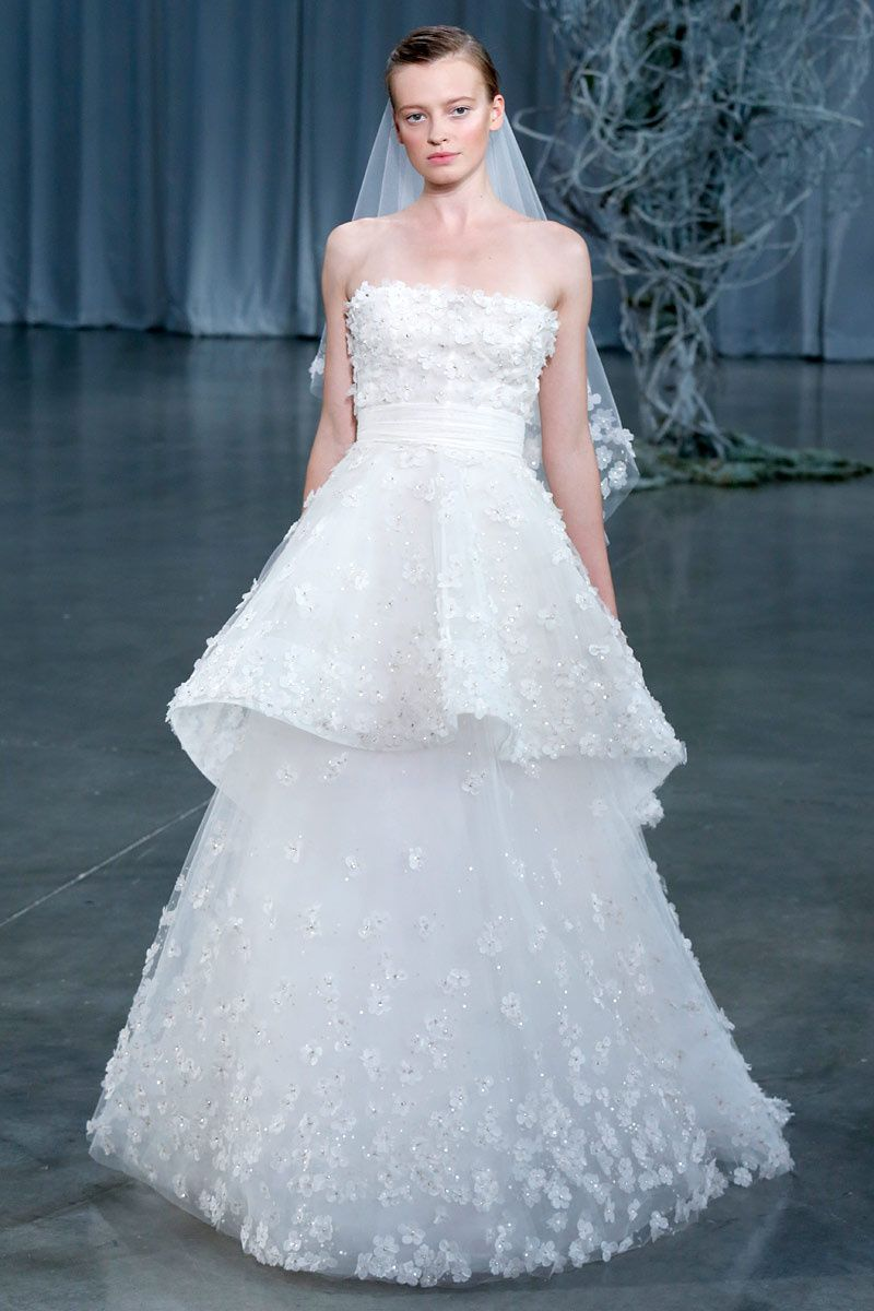 Monique Lhuillier Bridal, otono-invierno 2013/2014 | Vogue | Pinterest