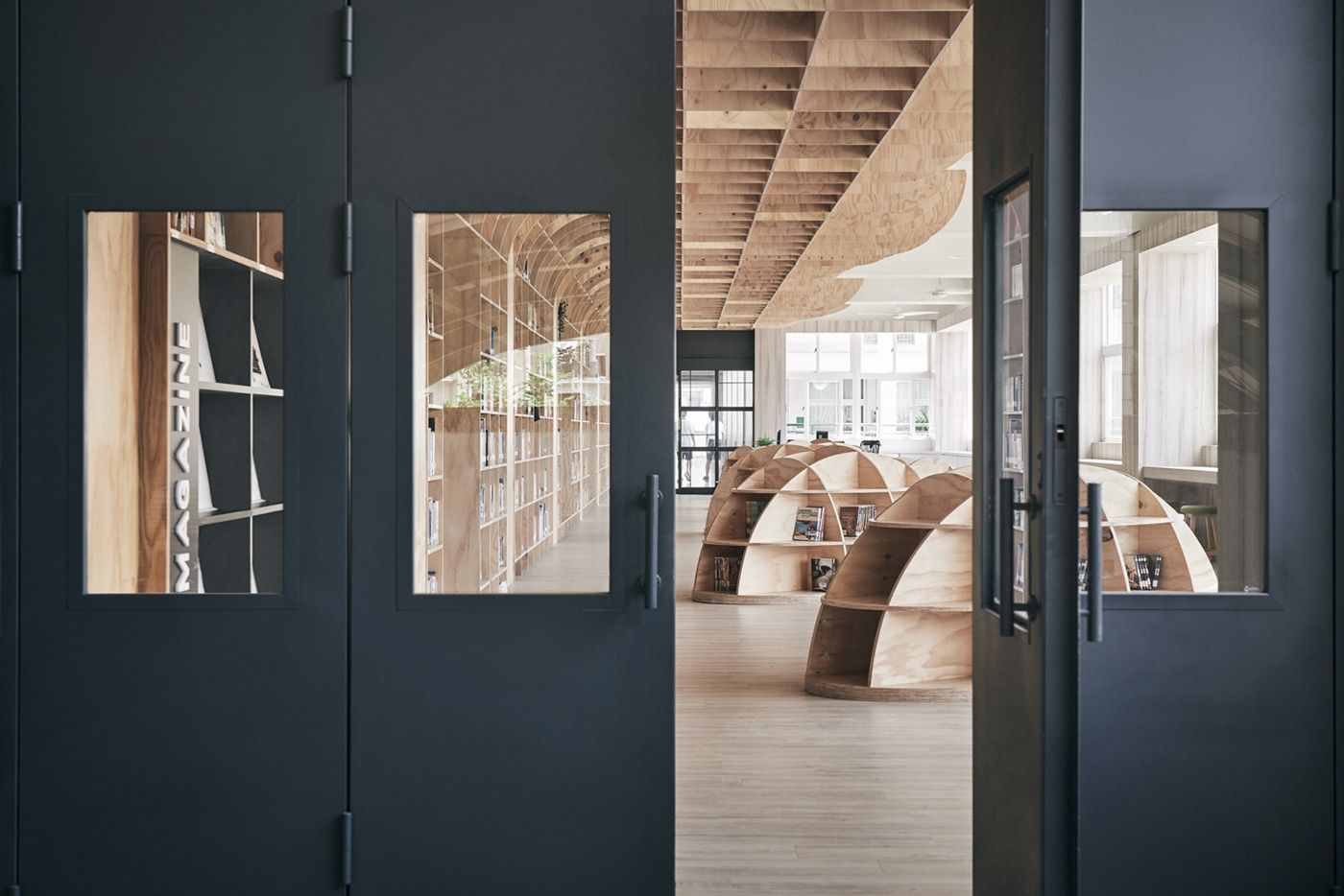 Talispace hive library on behance entrances pinterest