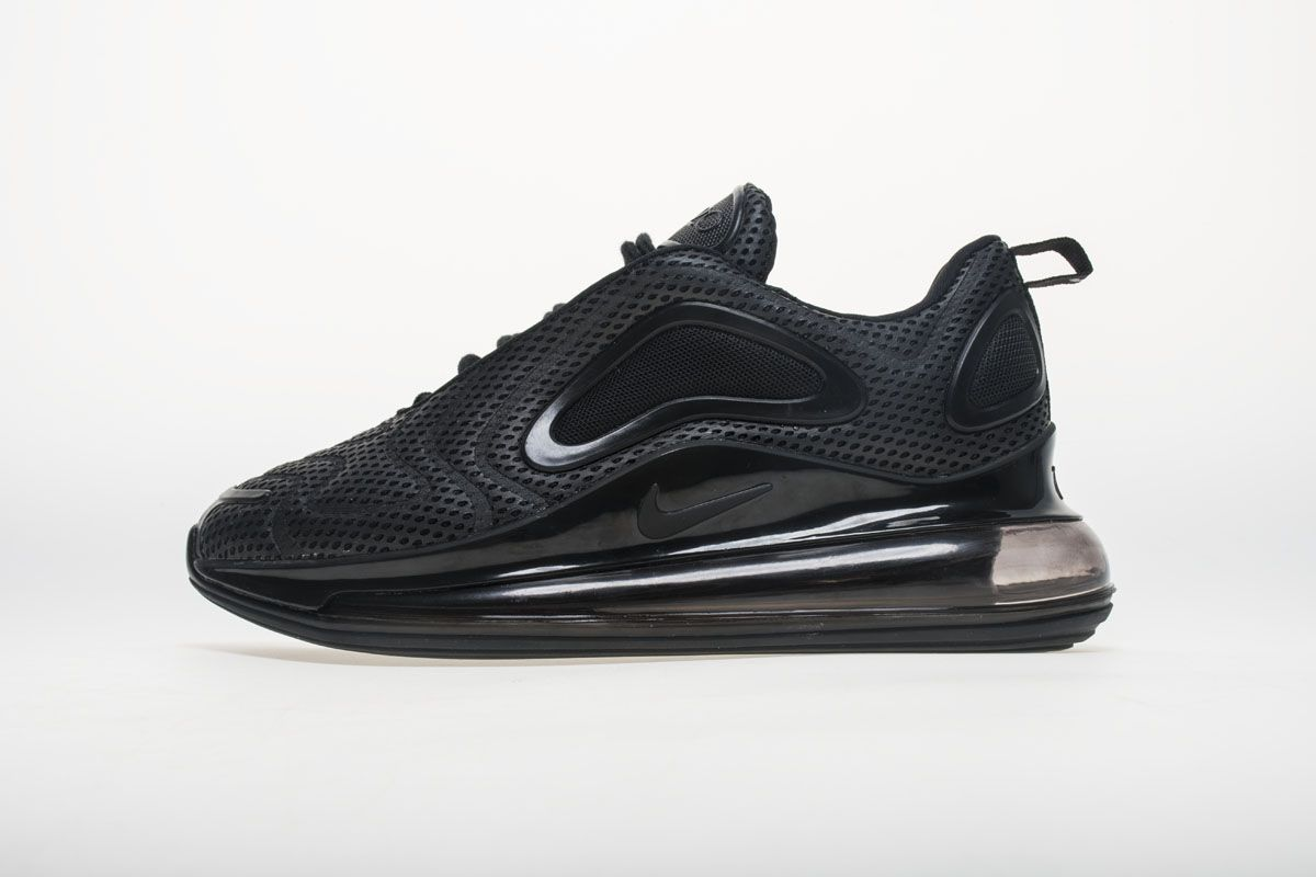 37514f7601eb4 Shop Best Price Adidas and Nike Sneakers Online Save Up From Cadysneaker. Nike  Air Max 720 AO2924-004 All Black Shoes1