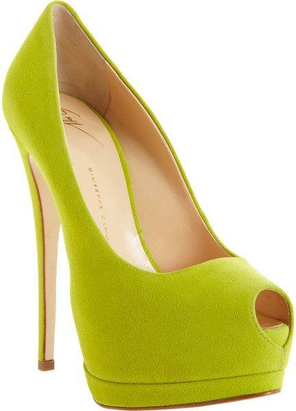 fafee115c9a01 Giuseppe Zanotti ~ Peep Toe Platform Pump | Shoes! :) | Shoes ...