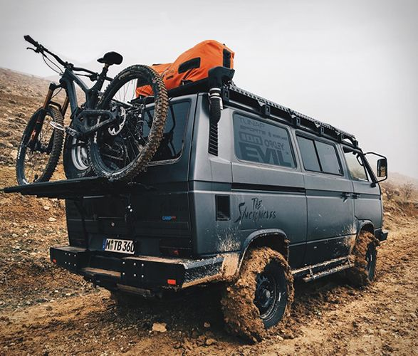 Vw Syncro, Motorhome, Off