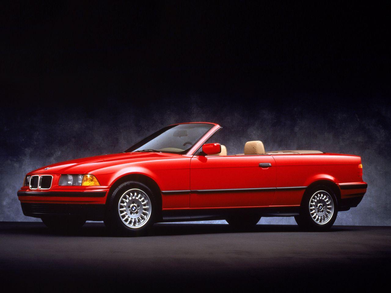 Bmw 3 Series Cabrio E36 Classic Bmw Red