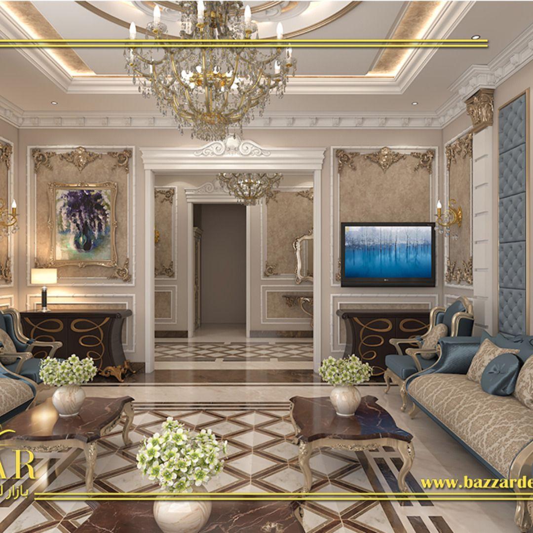 مجلس نساء علي طراز نيوكلاسيك بتصميم ملكي فخم مكتب ديكور ديكور مجلس نساء مصمم ديكور بالخبر تصميم داخلي Classic Interior Design Luxury Design Hotels Design