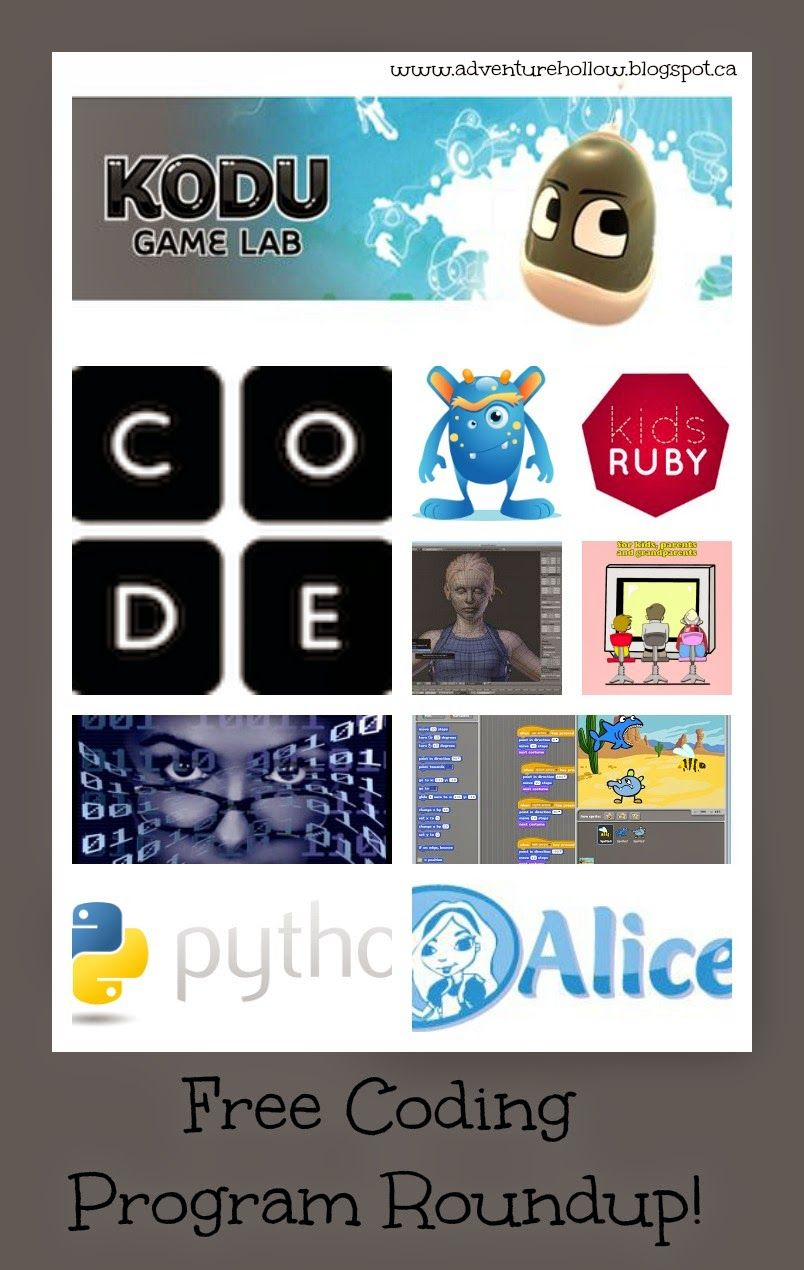 Adventure Hollow Free Kids Coding Roundup! Coding for