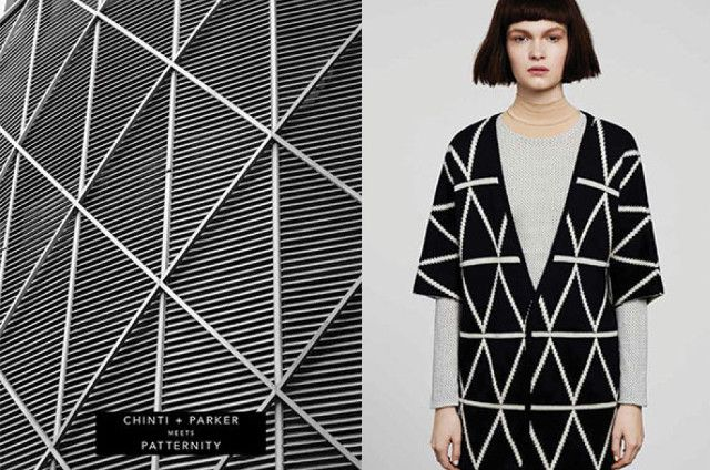 Architecture Inspired Knitwear #design