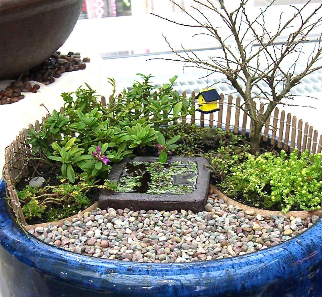 Miniature Garden Study Patios And Pathway Materials Miniature
