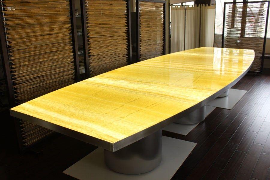 Custom Backlit Onyx Dining Table Dining Table Dining Onyx