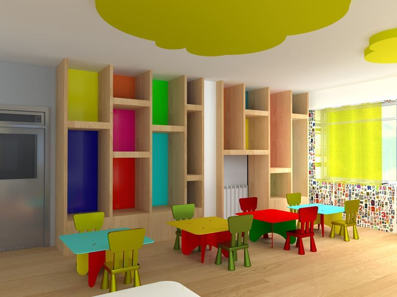 Modern Day Classroom : Interior design of a nursery classroom picture gallery